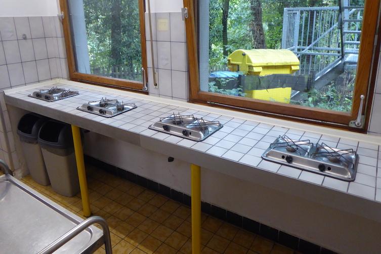 Küche-Gaskochstelle